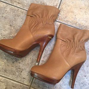 Michael Kors Leather Webster Booties